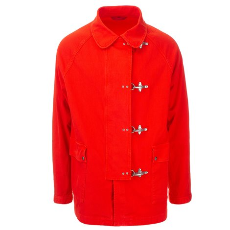 red 4  hooks jacket