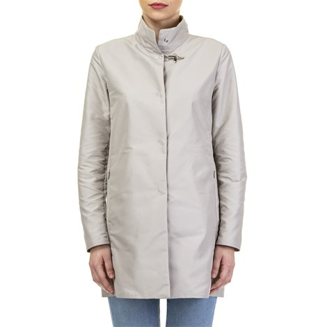 white down filled coat