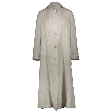 sand linen light overcoat