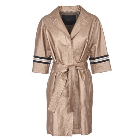 golden belted overcoat