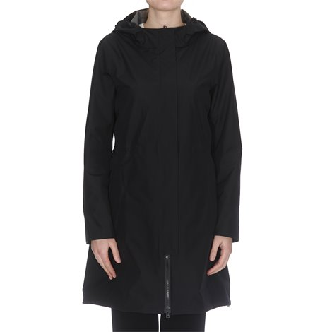 black gorotex rain coat
