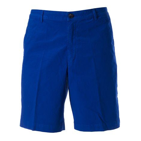 blue bermuda shorts