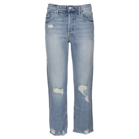 jeans cropped denim sdruciti