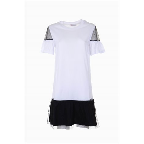tulle and jersey tshirt dress
