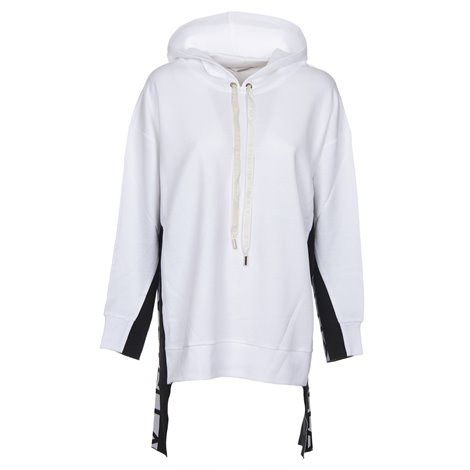white side bands hoodie