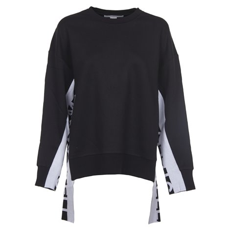 black sweatshirt with