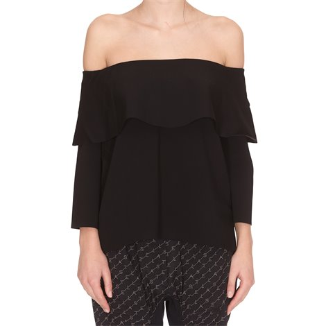 black off shoulders top