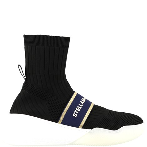 stretch fabric sock sneakers