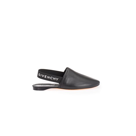 70mm patent slingback loafers