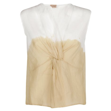 top sleeveless top
