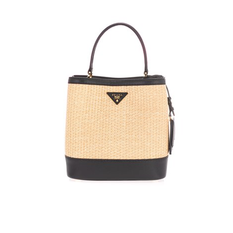 panier medium straw bag
