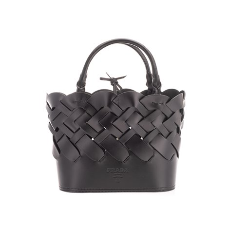black leather sidonie bag
