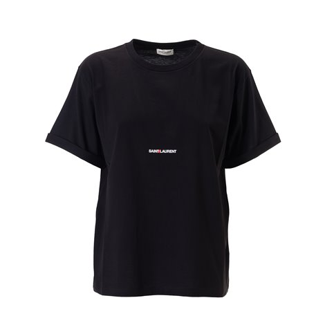 SAINT LAURENT  T-SHIRTS AND POLOS SHORT SLEEVES