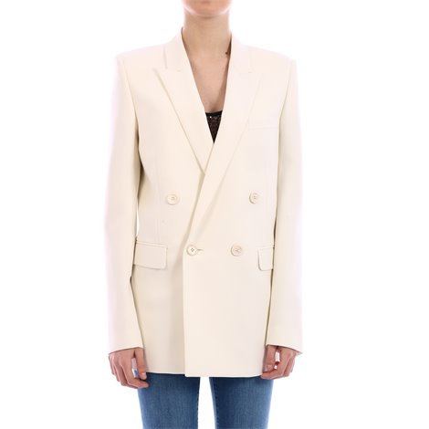 virgin wool double breasted jacket