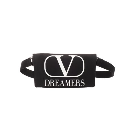 nylon belt bag with vlogo dreamers print