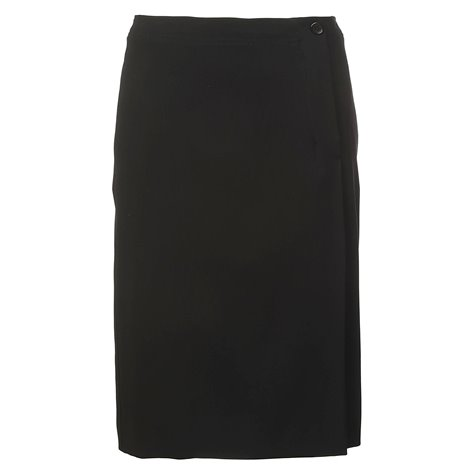 black knee lenght and midi skirts