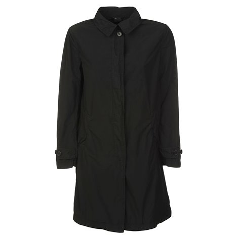 black raincoats coats
