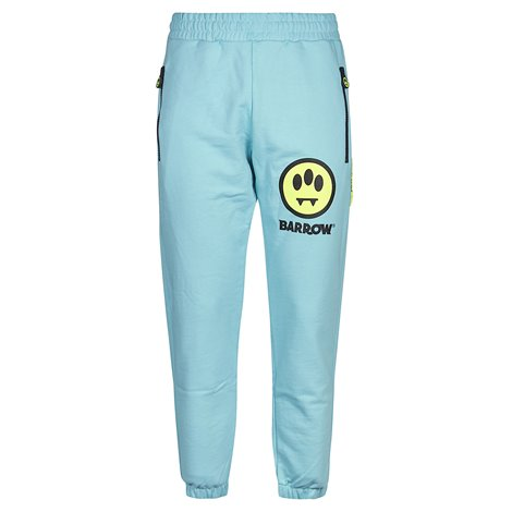 light blue casual trousers