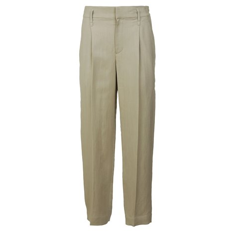 beige large trousers