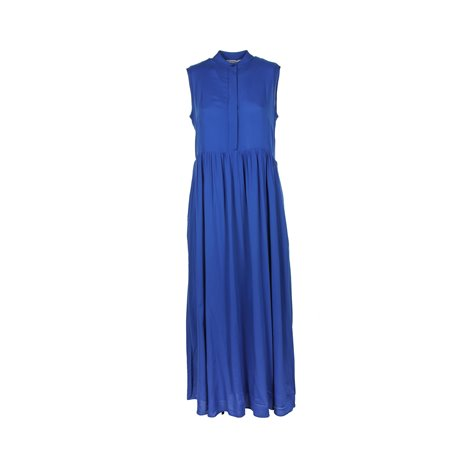 blue knee lenght dresses