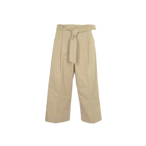 sand straight trousers