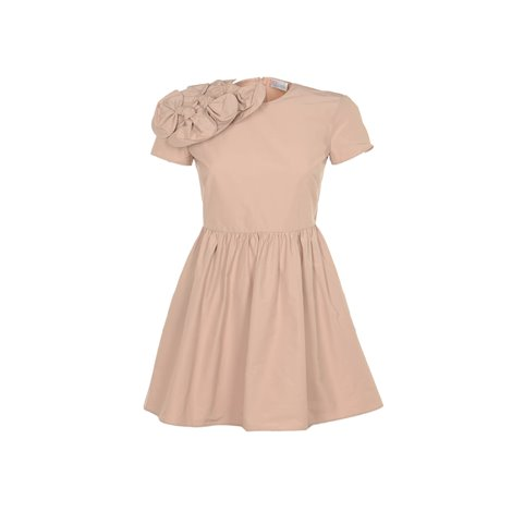 nude knee lenght dresses