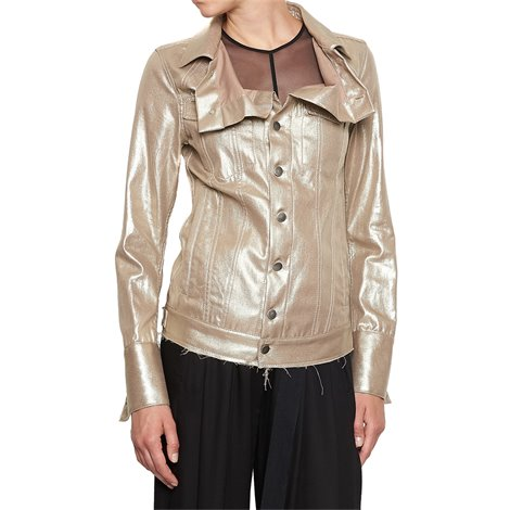 gold lurex jacket