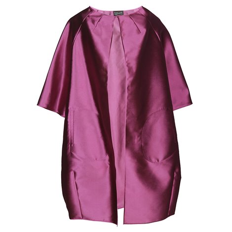 fuchsia oversize dress