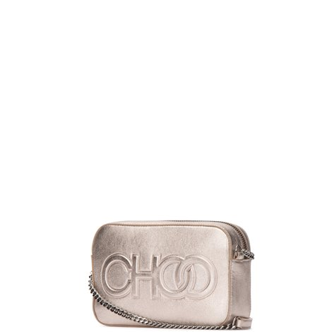 logo embossed nappa leather balti mini bag