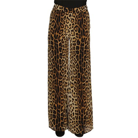 leo printed trousers