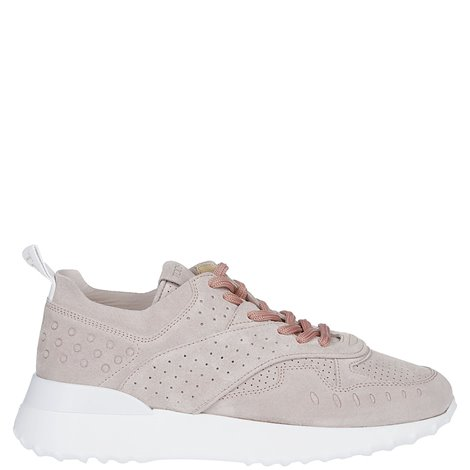sneakers in pelle scamosciata